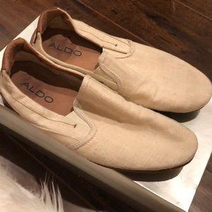 Aldo Slip On Mens Fabric Shoes